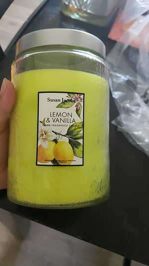 Susan Jacob's candle for Sale in Hesperia, CA