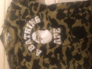 A Bathing Ape camo shirt for Sale in Alexandria, VA