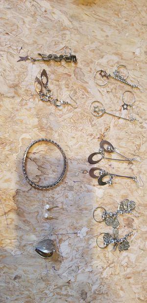 Earrings and bracelet for Sale in Louisville, CO