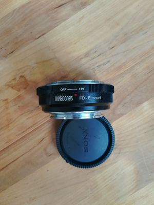 Metabones FD to E Mount Lens Adapter for Sale in Atlanta, GA