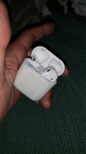 Air pods and pair of regular apple headphones for Sale in Santee, CA