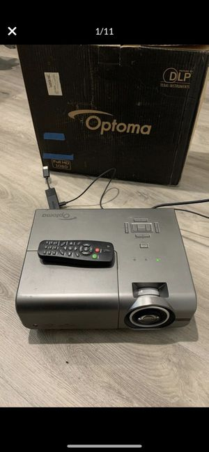 Optima TH1060P Projector & Amazon Fire Stick for Sale in Los Angeles, CA