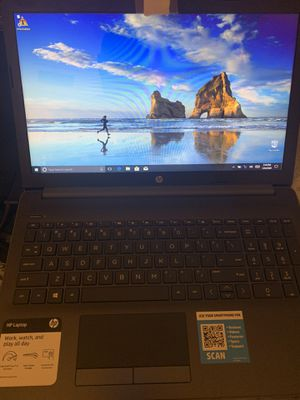 HP Notebook - 15-da0046nr Lap top Touch Screen for Sale in Belle Isle, FL