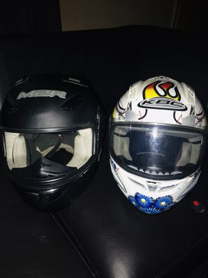 Motorbike helmets (2) for Sale in Whitehall, OH