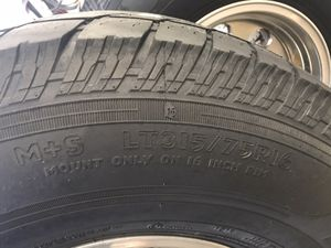 Cooper discovery a/t tires and wheels for Sale in Eagle Point, OR
