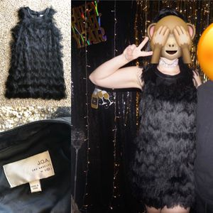 Super cute black fringe dress for Sale in Riverside, CA