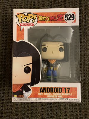 Funko Pop Animation #529 Android 17 Dragon Ball Z In Hand Now Fast Shipping!! for Sale in Hightstown, NJ