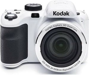 """Kodak PIXPRO Astro Zoom AZ421-WH 16MP Digital Camera with 42X Optical Zoom and 3"""" LCD Screen (White) for Sale in Providence, RI"""