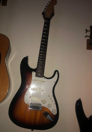 Squier Fender Electric Guitar for Sale in Houston, TX