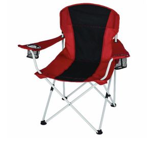Ozark Trail Oversized Chair with Cup Holders and Quick-Pack Strap red-black Color A6-206 for Sale in St. Louis, MO