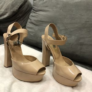 Steve Madden platforms ( size 10) for Sale in Normal, IL