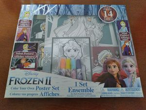 TOUTIS Color Your OWN Frozen II, Poster Set and Markers for Sale in Fresno, CA