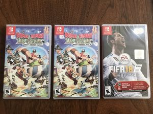 New, sealed Nintendo Switch games for Sale in Brook Park, OH