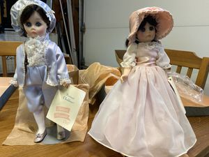 """Madame Alexander 12"""" Pinkie #1350 and Blue Boy Collector Dolls #1340 for Sale in Redwood City, CA"""