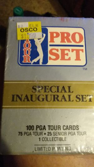 Pro Set golf on open box for Sale in Chandler, TX