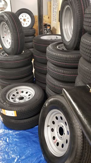 NEW TRAILER TIRES AND WHEELS STARTING AT $70+ TAX for Sale in Douglasville, GA