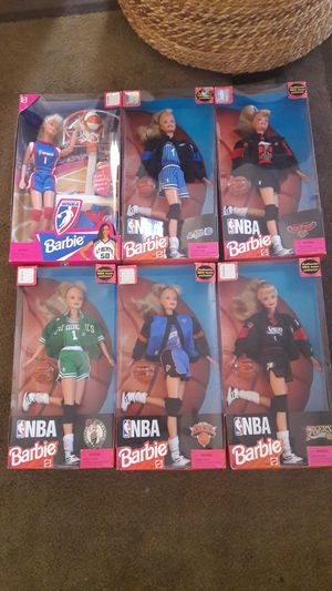 Nba barbies for Sale in East Providence, RI