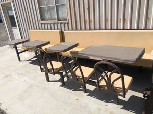 Tables benches for restaurant for Sale in Acton, CA