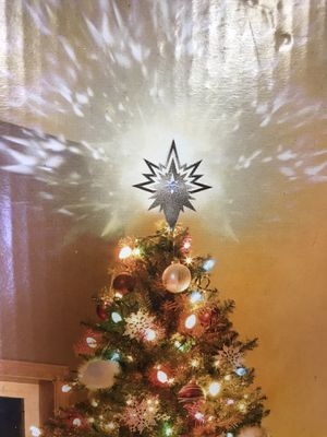 Tree topper projector star for Sale in Tempe, AZ
