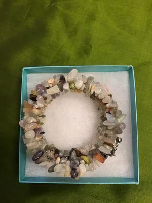 Mix gemstone wrap bracelet for Sale in Lodi, CA