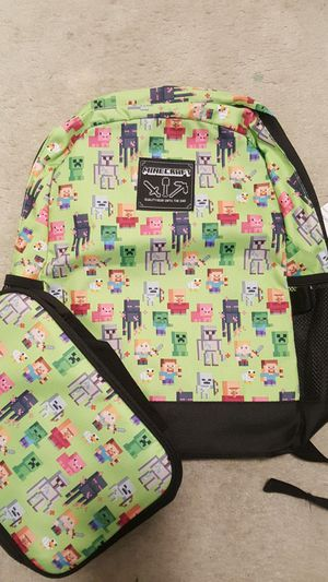 Minecraft back pack for Sale in Alexandria, VA