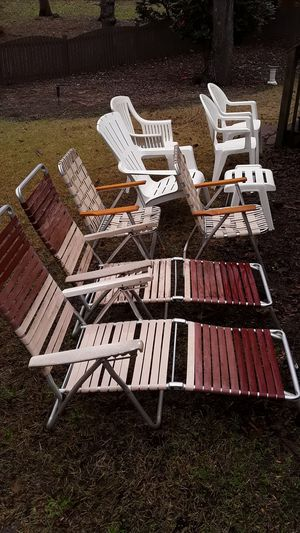 Older Lawn/patio chairs for Sale in Columbia, SC