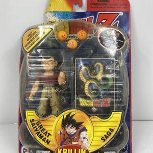 IRWIN Dragon Ball Z Action Figure Great Saiyaman Saga Krillin NIP Free Shipping for Sale in Peoria, IL