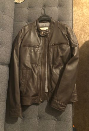 Wilson's Leather Brown Men's M Motorcycle Jacket for Sale in Oakland, CA
