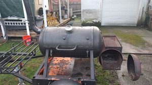 BBQ Smoker, Trailer with Title for Sale in Tacoma, WA