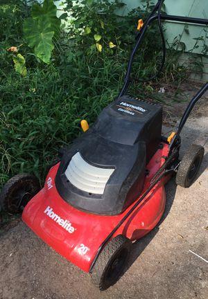 Homelite 24v Cordless Electric Lawn Mower for Sale in Atlanta, GA