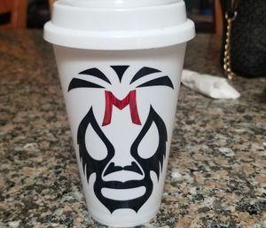 Mil mascaras coffee cup (starbucks) for Sale in San Jose, CA