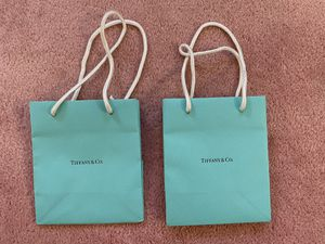 Small Tiffany & Co. gift bag in good condition for Sale in El Monte, CA