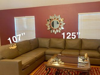 Brown 2 piece sectional for Sale in Garden Grove,  CA