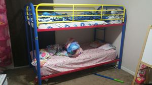 Bunk Bed with Matresses like new for Sale in Bellaire, TX