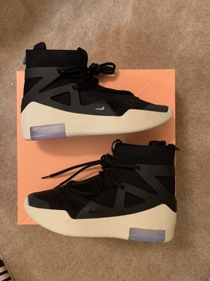 Nike air fear of god 1 black size 10 for Sale in Washington, DC