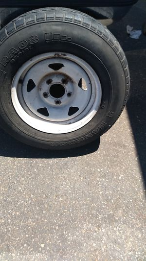 Trailer/Tow Dolly tire 195R14C __ 35/45 life .forsale$50 OBO for Sale in Anaheim, CA