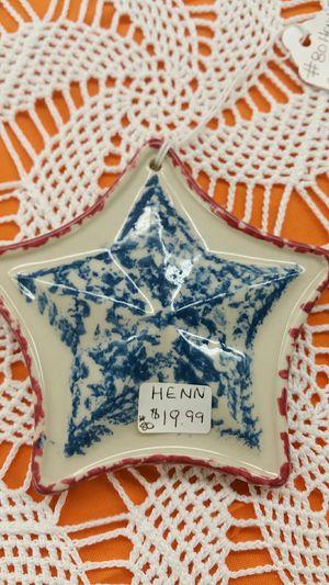 HENN red, white, blue Orniment for Sale in Harrisonburg, VA