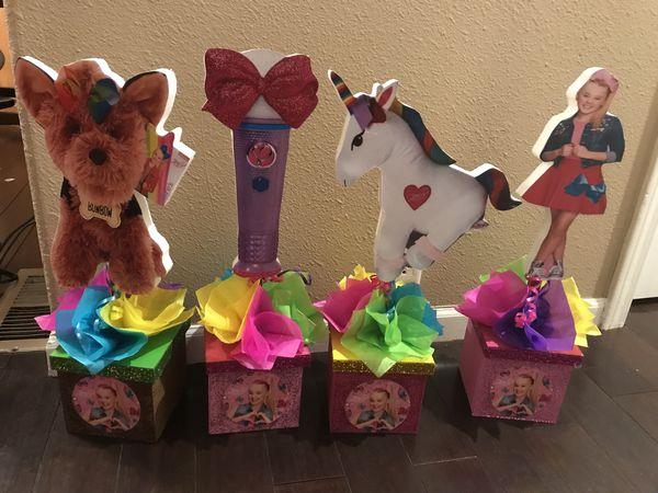 Jojo Siwa Birthday Party Centerpieces For Sale In Hemet Ca Offerup
