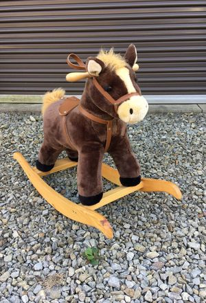 Kid's rocking horse toy for Sale in Donora, PA