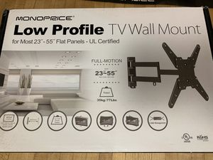 """NEW TV mount 23""""-55"""" swing arm for Sale in North Kingstown, RI"""