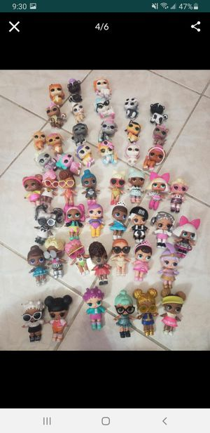 Lol surprise Lot 48 dolls/pets $180 for Sale in Miami Springs, FL