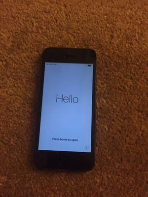 iPhone 5 16GB Black - compatible with AT&T for Sale in Chicago, IL