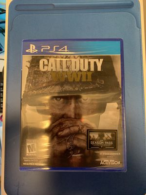Call of Duty WWII PS4 (NEVER OPENED) for Sale in Dallas, TX
