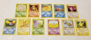 11 Nintendo Pokemon Cards 1999, 2002 for Sale in St. Petersburg, FL