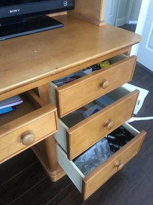 Desk with add on unit for Sale in Hialeah, FL