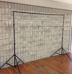 New in box 7 feet tall expand up to 10 feet wide back drop photography backdrop stand for Sale in West Covina,  CA