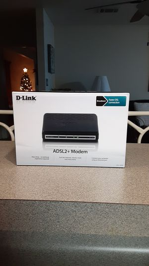 ADSL2 Modem for Sale in Manor, TX