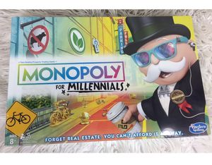 New In Box Monopoly For Millennials Board Game for Sale in Syracuse, UT