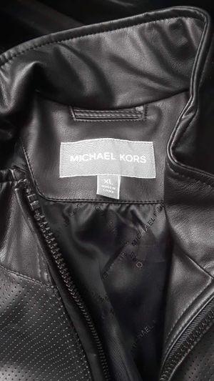 Michael Kors leather jacket for Sale in White Settlement, TX