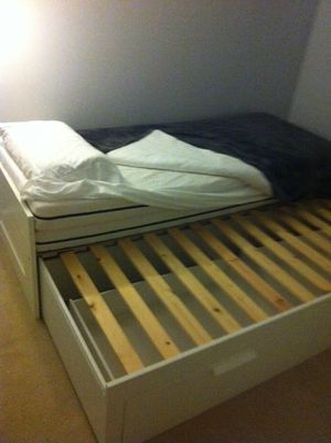 Trundle Bedframe - made in Germany for Sale in Falls Church, VA